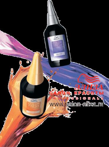 Тонирование волос краской Wella COLOR FRESH – гарантия достойного результата