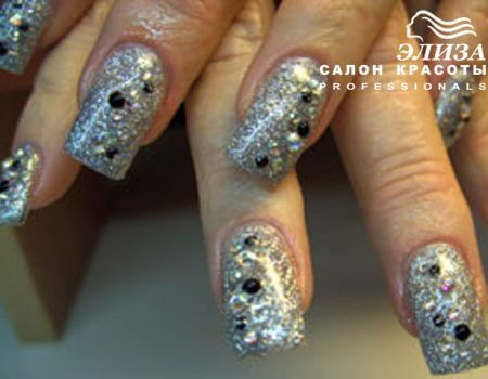Ногти работа салона красоты