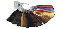 Палитра цветов волос для наращивания