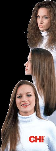 Выпрямление волос CHI