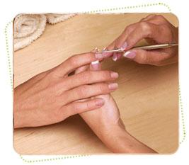 Окончательная обработка кутикулы и ногтей