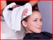 Подготовка волос, мытье
