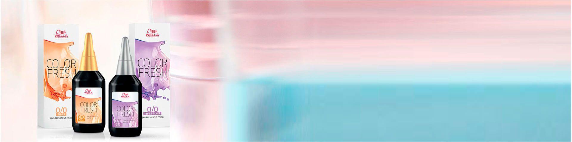 Оттеночная краска для волос Wella COLOR FRESH