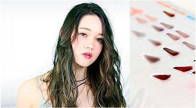 MATERIA Lebel Cosmetics — Окрашивание волос