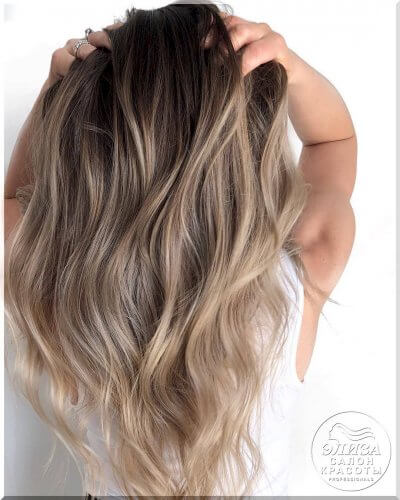 Окрашивание волос Балаяж
