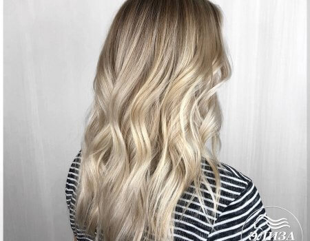 Окрашивание волос Шатуш