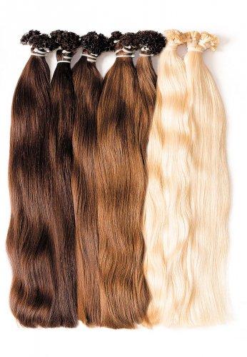 Отборные славянские волосы Golden nair с кератиновой капсулой