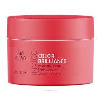 Маска-уход для защиты цвета окрашенных тонких и нормальных волос Wella Invigo Color Brilliance, 150 мл