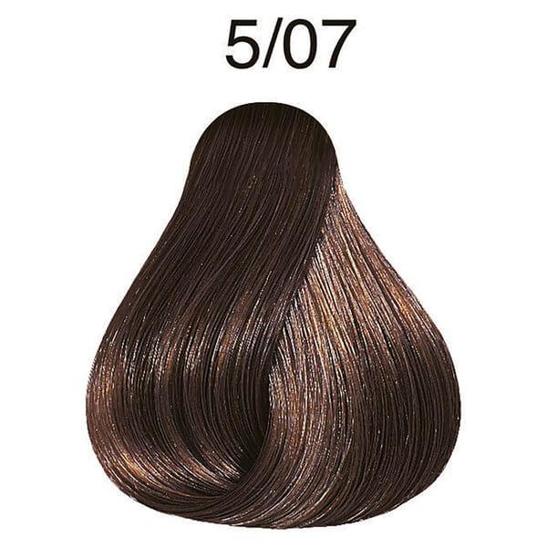 Оттеночная краска Wella Color Fresh 5/07, Светло-коричневый натуральный коричневый