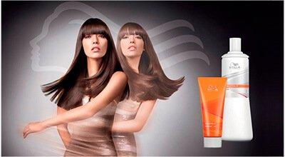 Выпрямление волос Wella Straighten