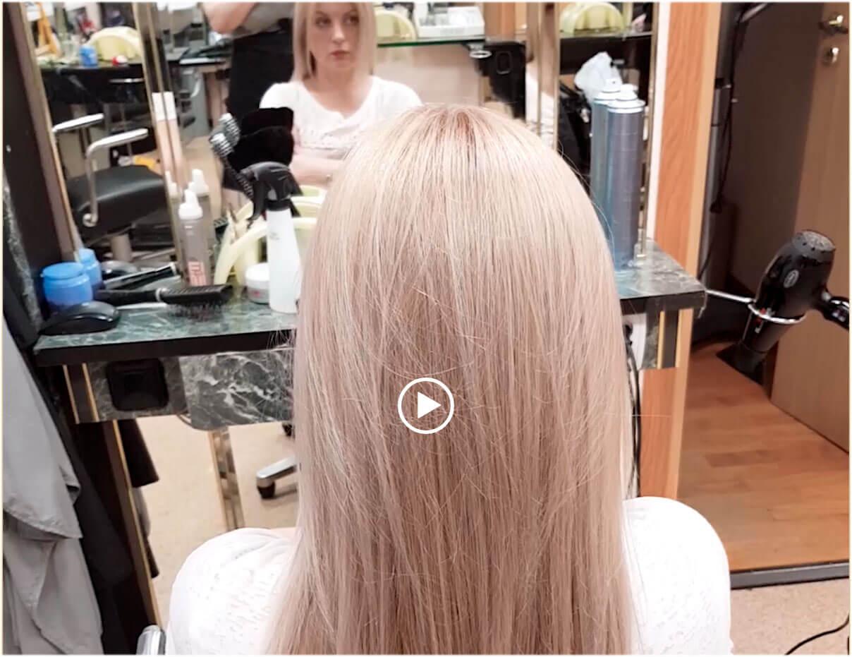Окрашивание волос Wella Illumina жемчужный блонд