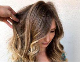 Окрашивание волос Омбре видео