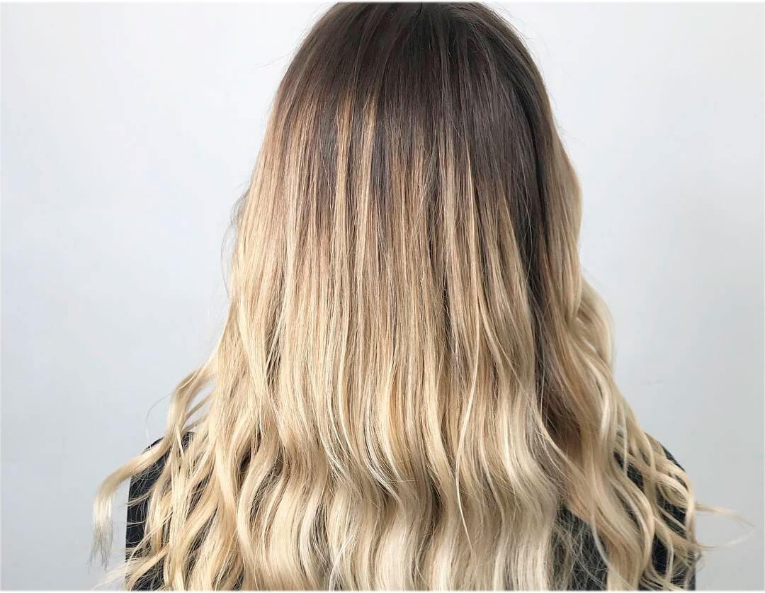 Окрашивание волос омбре фото