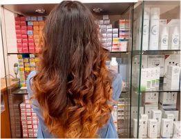 Окрашивание волос Сомбре