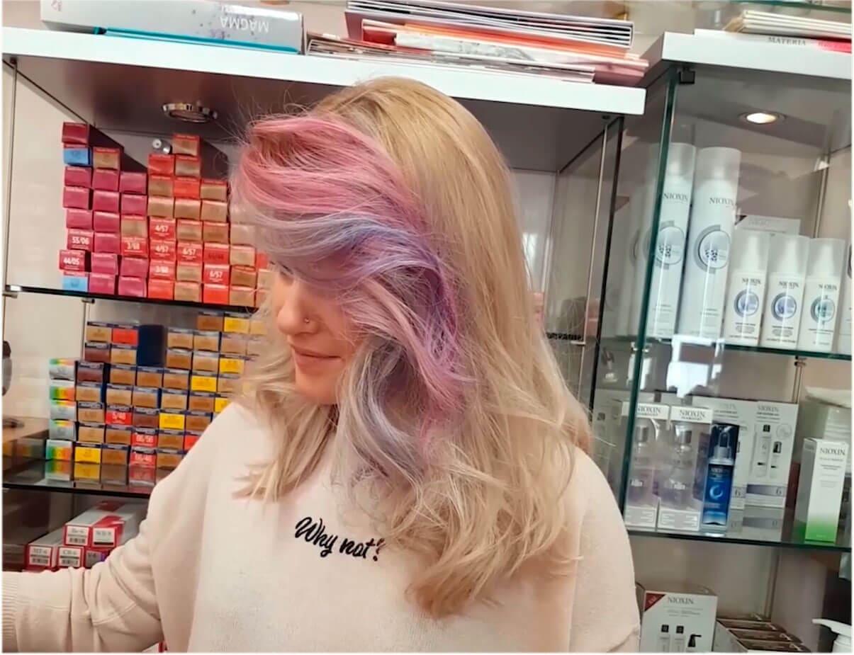 Видео тонирования Wella Color fresh create