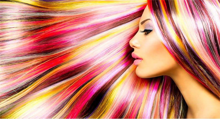 Авторское окрашивание волос