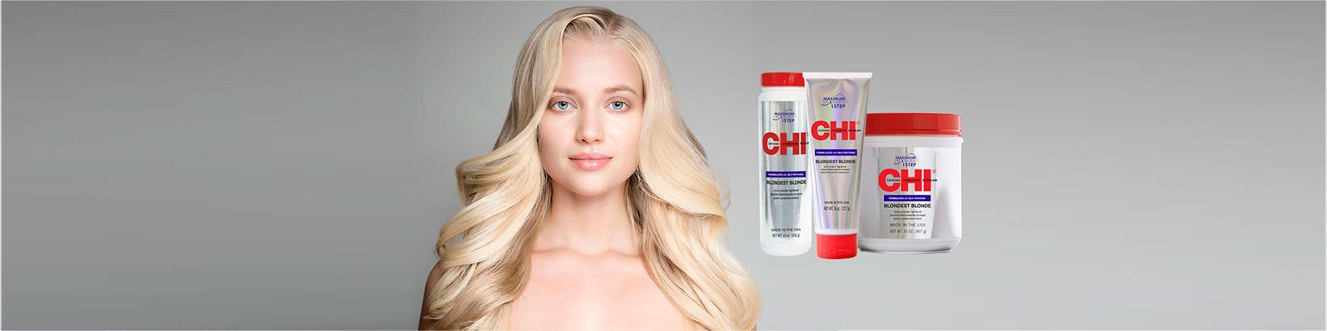 Блондирование волос CHI Blonde