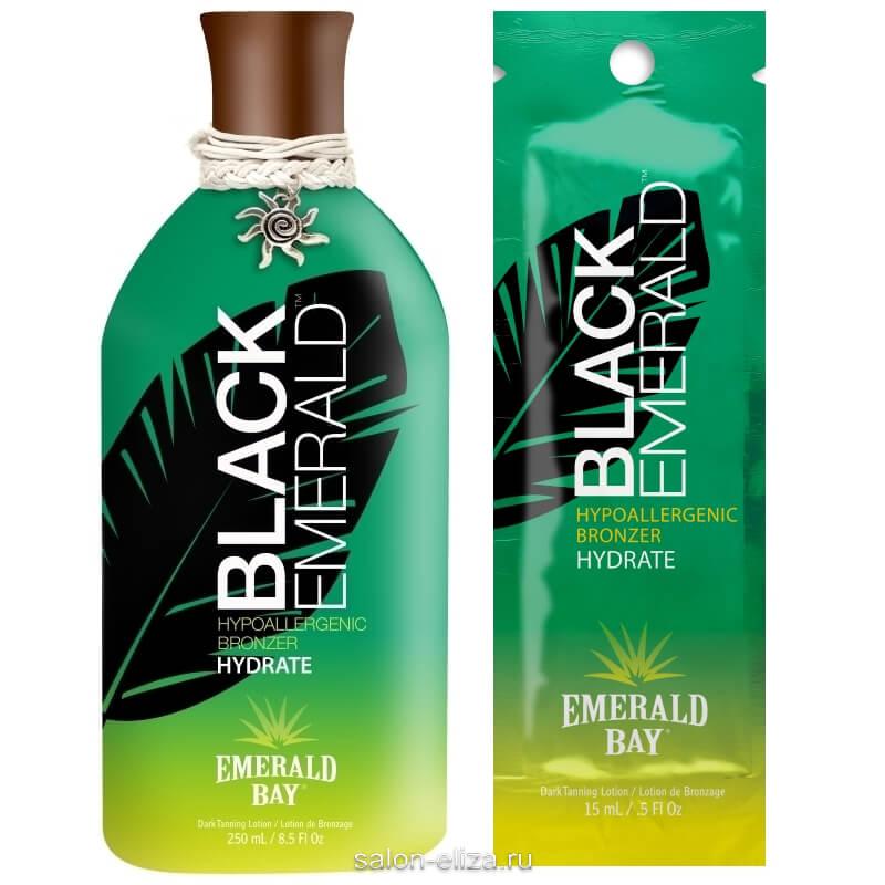 Крем для загара в солярии Emerald Bay Black Emerald 15 мл, 250 мл