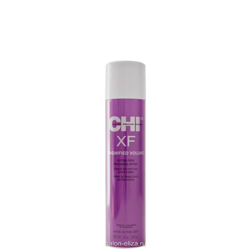 Лак CHI Magnified Volume Spray XF для объема экстра сильной фиксации 340 мл