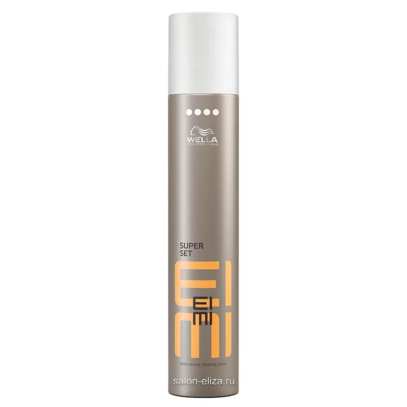 Лак для волос экстрасильной фиксации Wella Eimi Super Set 300 мл