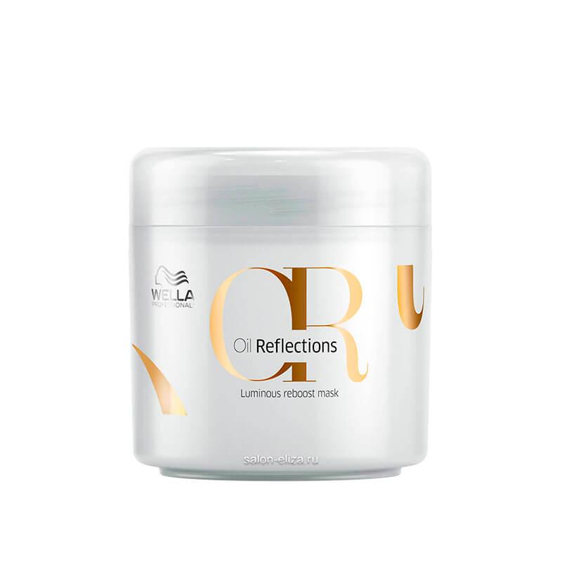 Маска для интенсивного блеска волос Wella Invigo Oil Reflections Luminous Reboost, 500 мл