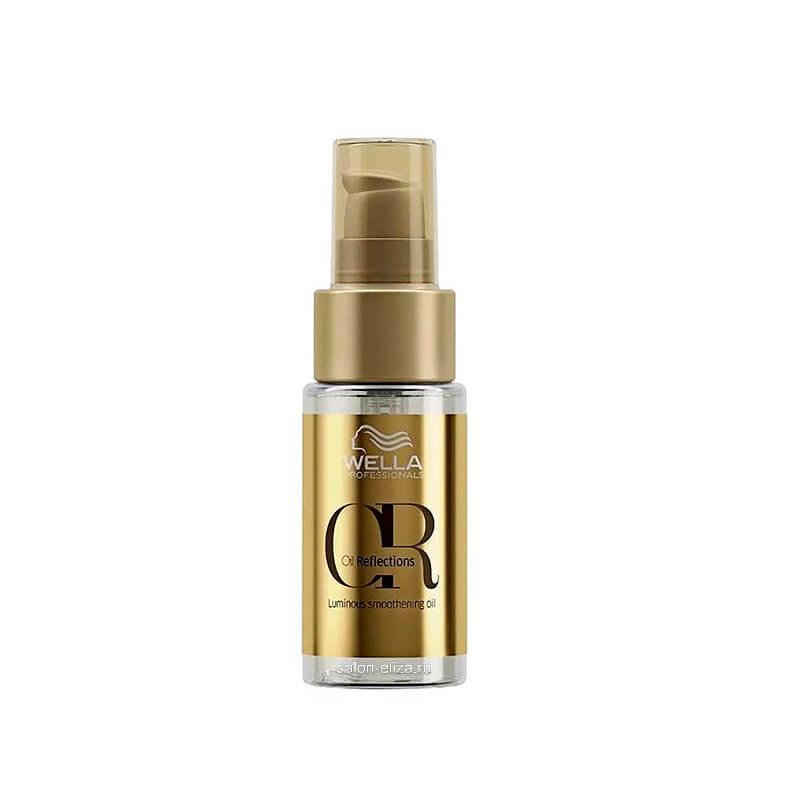 Разглаживающее масло для интенсивного блеска волос Wella Invigo Oil Reflections Luminous Smoothening Hair Oil, 30 мл
