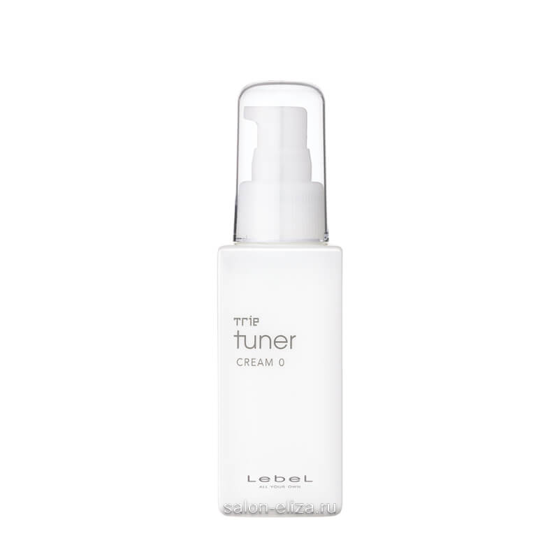 Разглаживающий крем Lebel Trie Tuner Cream 0 для укладки волос 95 мл