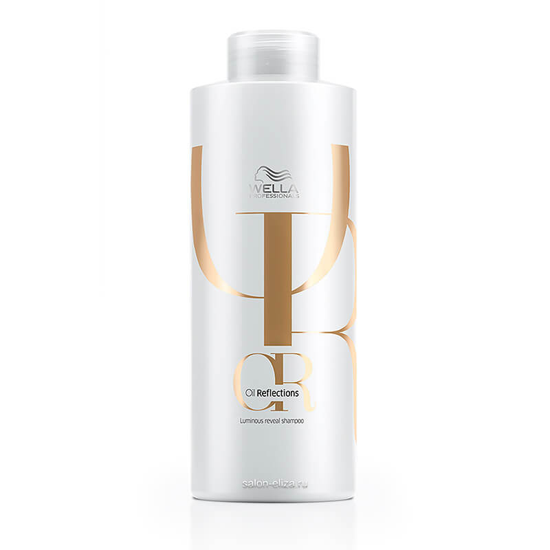 Шампунь для интенсивного блеска волос Wella Invigo Oil Reflections Luminous Reveal, 1000 мл