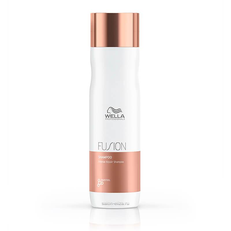 Шампунь для интенсивного восстановления волос Wella Invigo Fusion Intense Repair, 250 мл