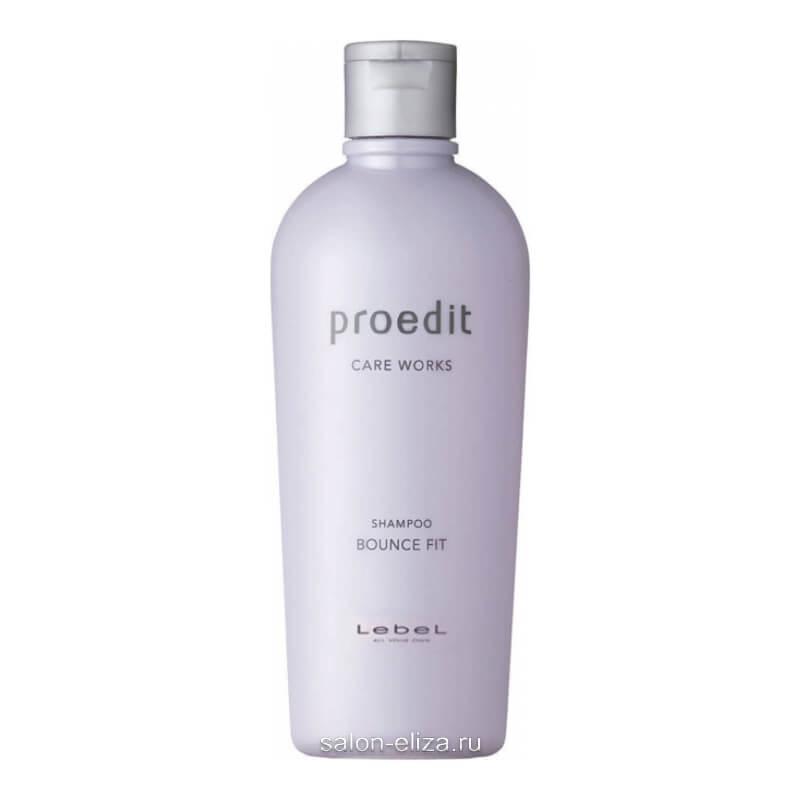 Шампунь для мягких волос Lebel Proedit Care Works Bounce Fit 300 мл