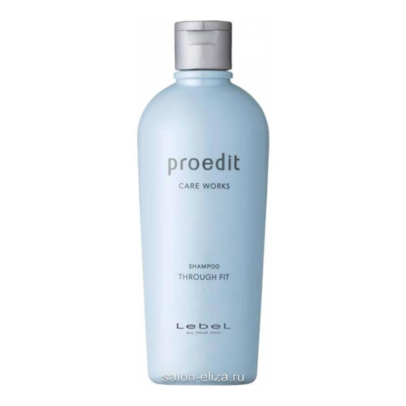 Шампунь для прямых волос Lebel Proedit Care Works Through Fit 300 мл