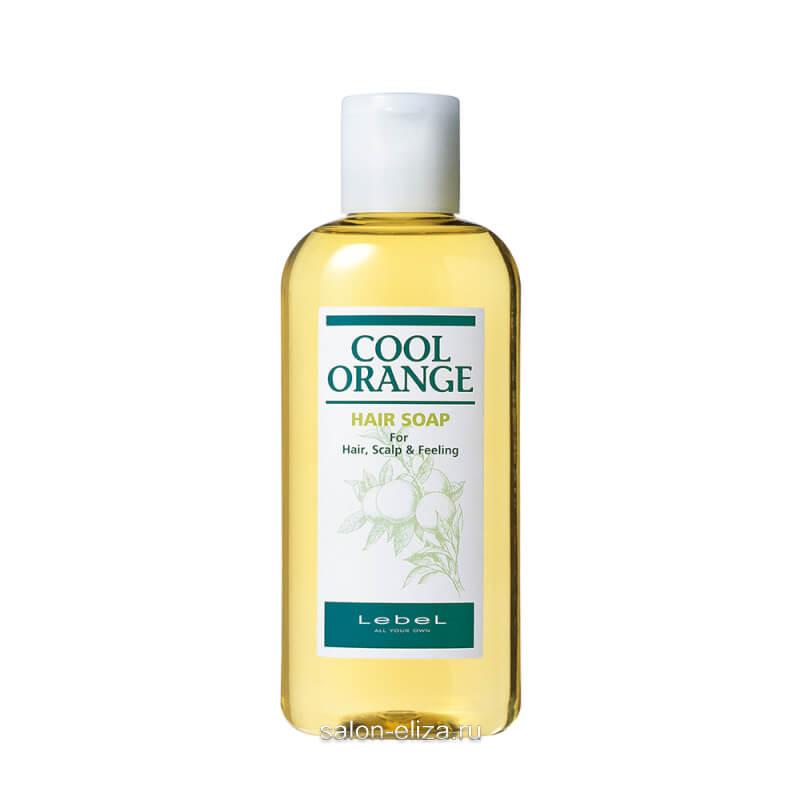 "Шампунь для волос Lebel Cool Orange Hair Soap Cool ""Холодный Апельсин"" 600 мл"