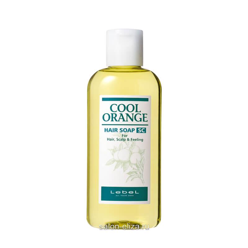 "Шампунь для волос Lebel Cool Orange Hair Soap Super Cool ""Супер Холодный Апельсин"" 200 мл"
