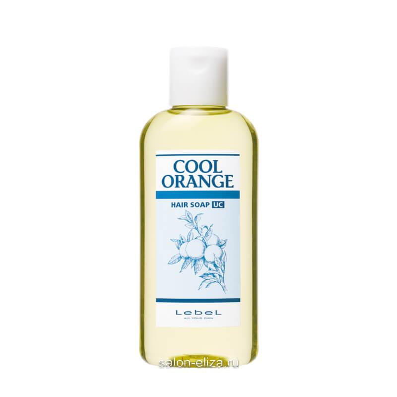 "Шампунь для волос Lebel Cool Orange Hair Soap Ultra Cool ""Ультра Холодный Апельсин"" 200 мл"