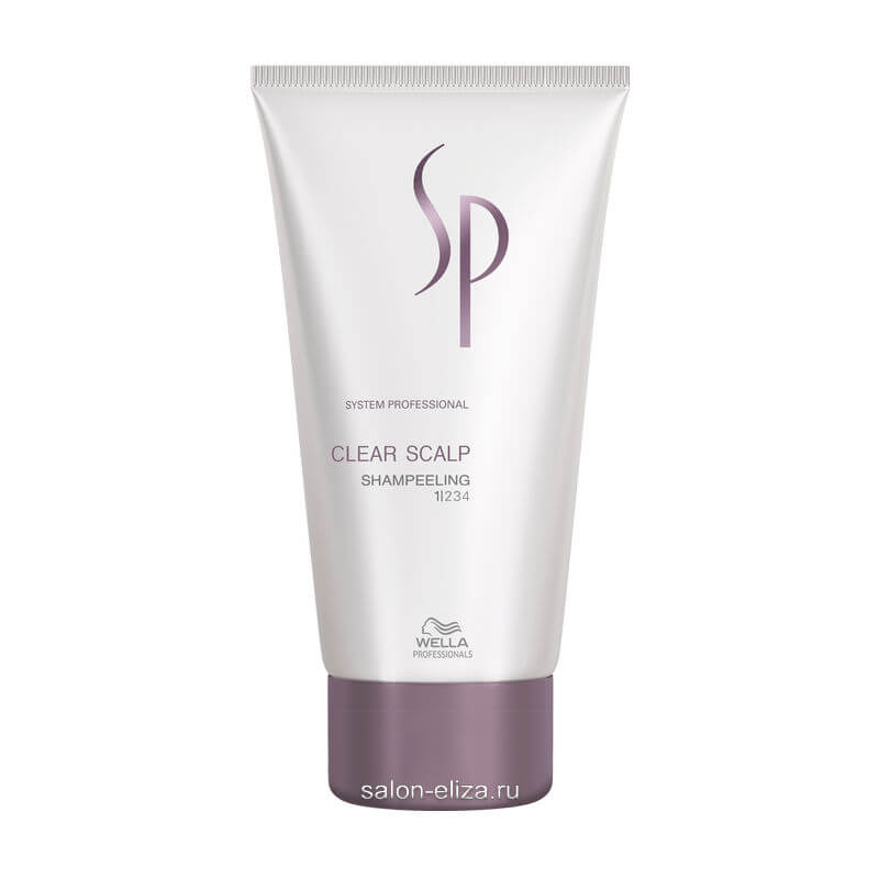 Шампунь-пилинг против перхоти Wella SP Clear Scalp 150 мл