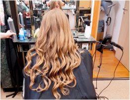 Женская укладка волос