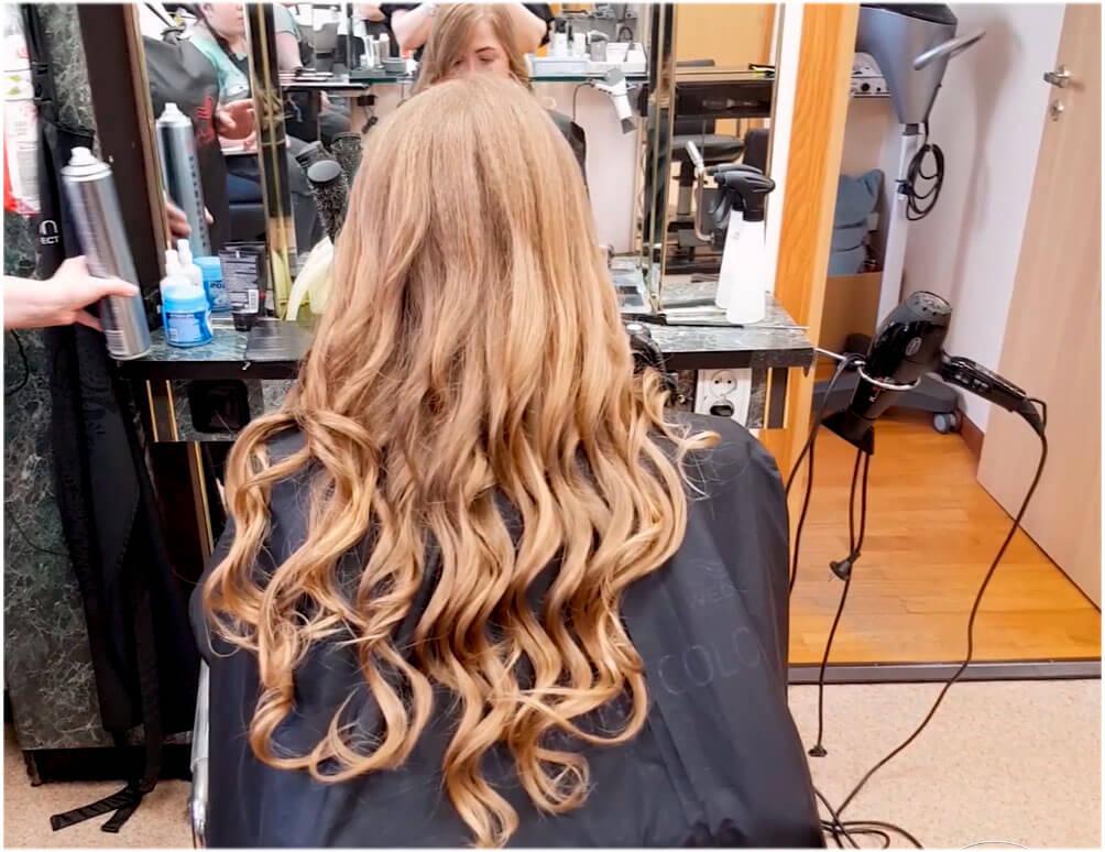 Уложенные волосы – это всегда красиво