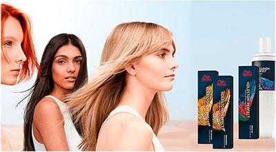 Окрашивание волос Wella Koleston Perfect