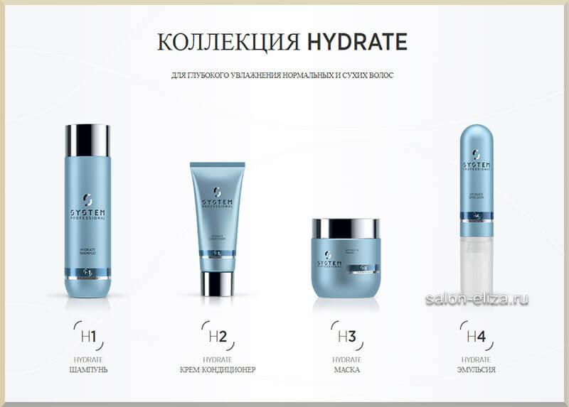 Hydrate. Для глубокого увлажнения нормальных и сухих волос.