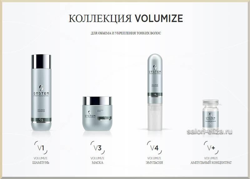 Volumize. Для объема и укрепления тонких волос