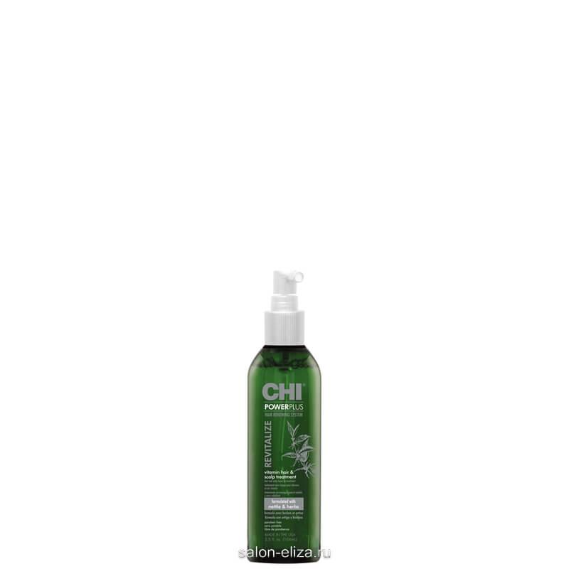 Восстанавливающее cредство CHI Power Plus для ухода за волосами и кожей головы 104 мл