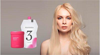 Цена блондирования lebel