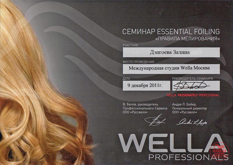Залина парикмахер-стилист
