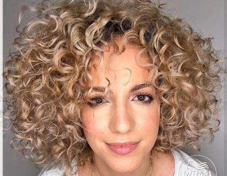Завивка волос в салоне Wella ЭлизаЗавивка волос в салоне Wella Элиза