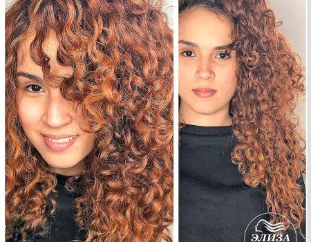 Завивка волос в салоне Wella Элиза
