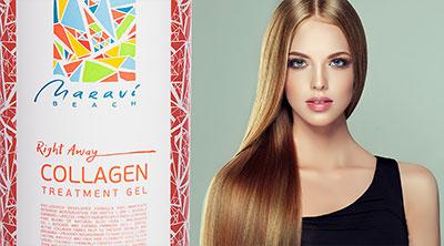 Коллаген для волос maravi beach collagen