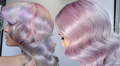 Перламутровые волосы