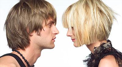 Окрашивание волос женщинам и мужчинам