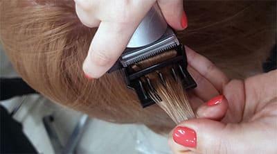 Полировка волос в салоне красоты