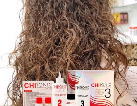 Шелковая химическая завивка CHI